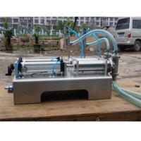 Wholesale Filling machine double nozzle head Liquid large hopper Rotary Valve range ml quantitative filling and packaging equipment