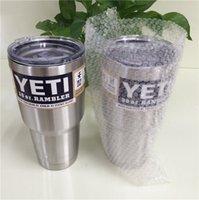 Wholesale Bilayer Stainless Steel Insulation Cup OZ YETI Cups Cars Beer Mug Large Capacity Mug Tumblerful
