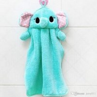 Wholesale Cute Animal Microfiber Cartoon Absorbent Hand Dry Towel Lovely Towel For Kitchens Bathroom Use