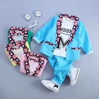 Wholesale Children new Korean version of the influx of children s clothing autumn baby three piece quality assuran