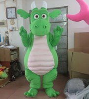 Wholesale green adult dinosaur mascot costume adult dinosaur costumes