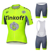 bank clothing - 2016 Pro Team Saxo Bank Tinkoff Cycling Jersey Short Sleeve Cycling Clothing Summer Hombre Bicycle Clothes Ciclismo Maillot