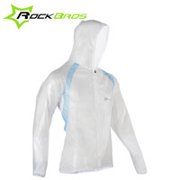 Wholesale ROCKBROS Mountain Bicycle Bike Cycling Raincoat Breathable Compressed Windshield Waterproof Raincoat Outdoor Clothes Colors B082