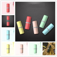 Wholesale 2016 New Hot USAR Capsule Macarons Cups Toothbrush Suit Business Travel Essential Supplies Portable Storage Box Tumbler Package