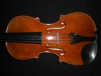 Wholesale 1 PC High Quality Violin painted European wood antique vanish spruce top maple back ebony accessories