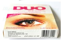 Wholesale Hot selling DUO Eye Lash Glue Clear White black Makeup Adhesive Waterproof False Eyelashes Lady makeup tool Hot Selling DHL