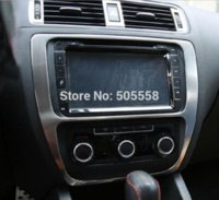 Wholesale For VW Volkswagen Jetta Mk6 Center Console Frame Decor Trim Cover Sticker Auto Accessories stickers bus
