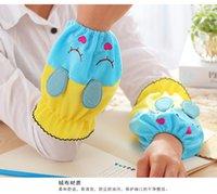 Wholesale Female cartoon short sleeve lovely fluffy cuff Qiu dong season office antifouling sleeve children