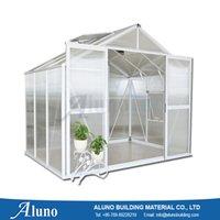 aluminium greenhouse - ALUNO W1886XL1880XH2400 Aluminium Greenhouse For Vegetable