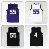 Wholesale With Logo name Stitched Swingman SW Williams Webber Sacramento Basketball Jersey Cheap Retro Hot Promotion Sport