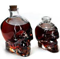 Wholesale 2016 hot mL L transparent crystal skull shot glass of vodka whiskey Wine Bar Club Home Shuiju