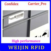 adhesive carrier - Confidex carrier Pro UHF RFID tag EPC C1G2 ISO18000 C washable label with strong adhesive for plastic container