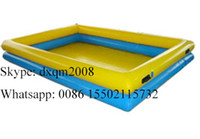 Cheap 2016 customized colorful swimming pool for kids and adults  inflatable swimming pool for sale