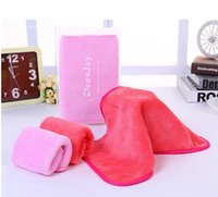 Wholesale 2016 hot Magic Makeup Eraser High quality ECO Makeup Remover Towels professional Makeup Cleaning Towel remove makeup with water