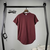 big and tall mens clothing - bang kpop mens big and tall plain extended t shirt streetwear kanye west fitness clothing extra long t shirts justin bieber
