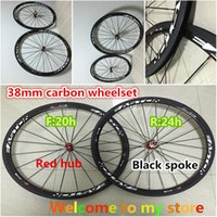 bicycle free hub - White logo Easton mm carbon wheels Made in China road bicycle wheelset K weave mm width A271 hub