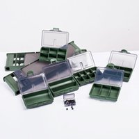 bead spinner - Carp Coarse Sea Fishing Tackle Box Bit Complete Boxes System Ideal for Hooks Swivels Beads Spinners Tackle