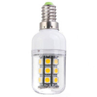 Wholesale Lowest Price E14 W LM LED SMD Energy Saving Pure Warm White Corn Light Lamp Bulb AC DC12V