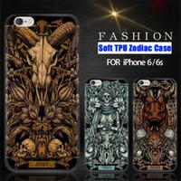 aries cover - Zodiac Case For iphone S Plus plus Soft TPU Gel Phone Cover Constellations Aries Taurus Gemini Libra Sagittarius Pisces DHLFree SCA150