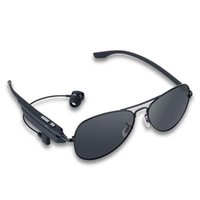 Wholesale Wireless Bluetooth Polarized Smart Sunglasses Hands Free Talk Voice Control Headset Sports Stereo Driving Sun Glasses