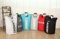 aluminium beds - Fashion Oxford Fabric Aluminium Handles Foldable Laundry Basket Dirty Clothe Storage Basket Laundry Bag basket