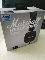 Wholesale Marshall Major II Headset With Mic Deep Bass DJ Hi Fi Headphones HiFi Earphones Professional DJ Monitor Headphones