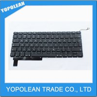 Wholesale NEW LAPTOP KEYBOARD For MacBook Pro quot Unibody A1286 UK KEYBOARD Year