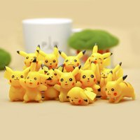 Wholesale HOT PVC Pikachu Action Figure Toy Collector s Edition Model Kids Birthday Gifts DHL shipping