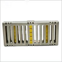 Wholesale Stainless Steel Dental Instruments Disinfection Box Dental Equipment Boxes High Quality