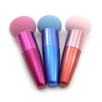 Wholesale Hot Sale Colors Makeup Brushes Liquid Cream Flawless Foundation Spong Cosmetic Brush Powder Puff