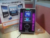 Wholesale Zksoftware VF300 facial recognition time face time recording ID card attendance machine