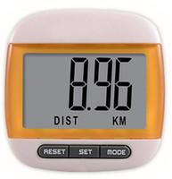 Wholesale 3 in Mini small type waterproof step Movement calories counter multifunction digital pedometer
