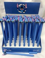 Wholesale New set Cartoon Stitch stationery children ballpoint pen for kid best gift