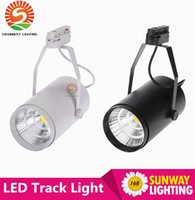 bathroom lighting stores - NEW W AC85 V LM COB LED Track Light Spotlight Lamp Adjustable for Shopping Mall Clothes Store Exhibition Office
