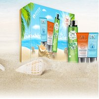 Wholesale Wholsale High Quality Hot Sale ZMC Tendering Shining Sunscreen Value Set with SPF PA Sunscreen Emulsion Moisturizing After Sun