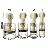 Wholesale New Hot Vacuum Twist Rotary Cupping Sucker Nipple Enlargement Pump Suction UK R12