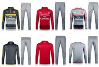 arsenal soccer clothing - 16 Arsenal sweater tracksuit Sportswear training Suits Kits men s Clothes Trackring suits Male Hoodies mix order
