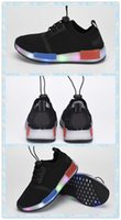 baby gym shoes - Boys And Girls Shoes NMD Fashion Shoes Children s Running Sports Shoes NMD Black Baby Kids Sneaker Bright Lights shoes