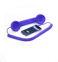 Wholesale Pregnant Radiation Receiver Retro Handset G G Universal Cell Phone Handsets to Adjust the Volume the Handset Color Box Packaging