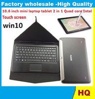 touch screen portable computers - 10 inch mini laptop tablet in Quad core Intel GB GB gb SSD Windows bluetooth touch screen portable notebook computer GOOD