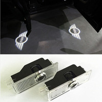 Wholesale 2pcs Mini Cooper R36 R56 R57 COOL LED logo door light ghost shadow laser projetor light