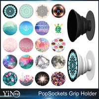 Wholesale Universal PopSockets Expanding Stand Grip for iphone plus Smartphones Tablets Flexible Holder pop socket holder ring Nebula Mandala