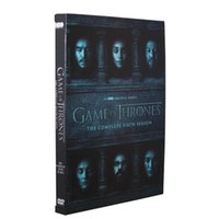 Wholesale Game of Thrones The Sixth Season Six Disc Set US Version Boxset dvd Brand New Exclusive version