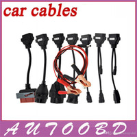 Cheap Hottest Selling Full set 8pcs car cables for TCS Cdp pro  delphi ds150e cdp Diagnostic Tool with Best price freeshipping