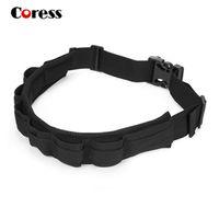 Nylon belt filters - Coress Padded Camera Waist Belt Lens Bag Holder Case Pouch Holder Pack Strap Adjustable c2029