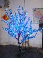 Wholesale 5ft M height VAC LED Cherry Blossom Tree Light Rainproof Outdoor Wedding Garden Holiday Light Decor LEDs