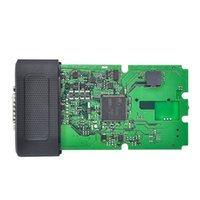 Wholesale Best Quality Single Green PCB board TCS CDP Pro with Bluetooth cars Trucks Diagnostic tool software free keygen