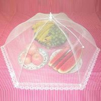 Wholesale Bo Zhong trade lace folding fruit food cover cover essential g summer recruit mosquito