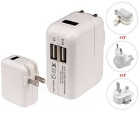 apple iphone mains charger - EU US UK Plug Ports USB charger Mains Wall Charger for iPad iPad mini for iPhone G S