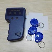 portable rfid reader - Portable KHz RFID ID Card Reader Copier Writer Duplicator Copy For Door System Cards Key Fobs